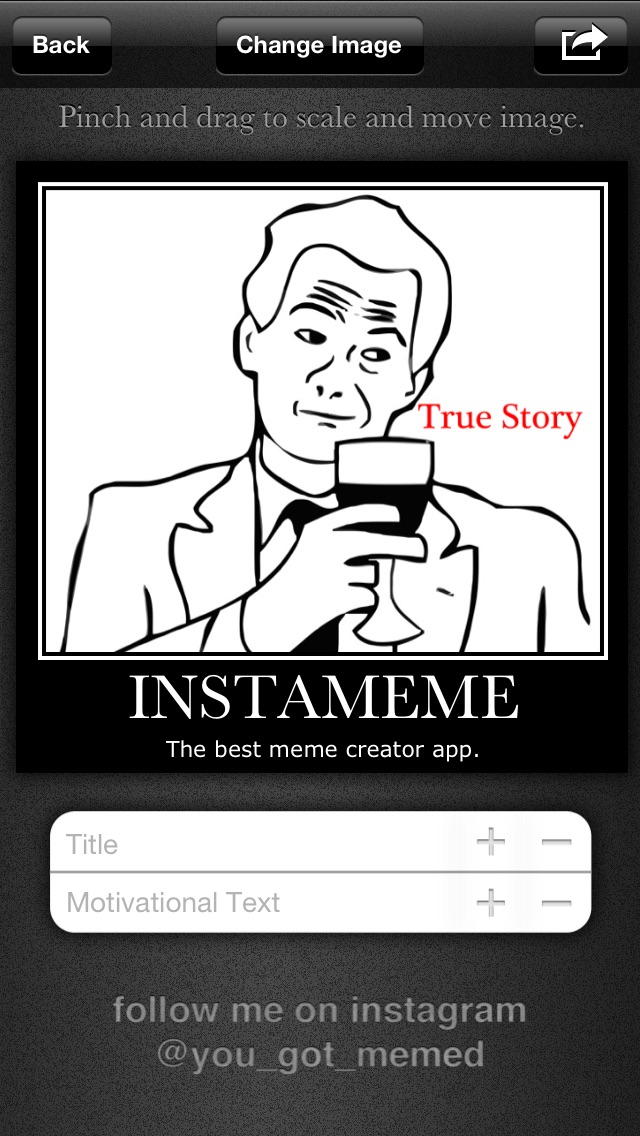 instameme the best meme creator free by barry wyckoff ios united