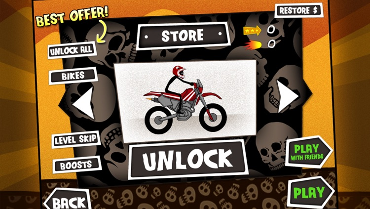 Dirt Bike Death Race - Free Motorcycle Hill Chase Racing Game