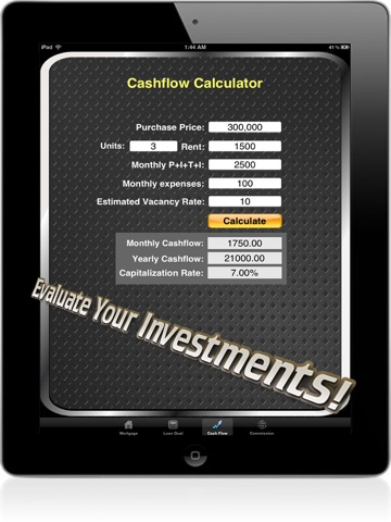 Real Estate Calc: Mortgage & Home Loan Qualification Calculator-ipad-4