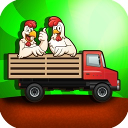 A Chicken Farm - My Tiny Tractor Racing Game for Kids - Full Version