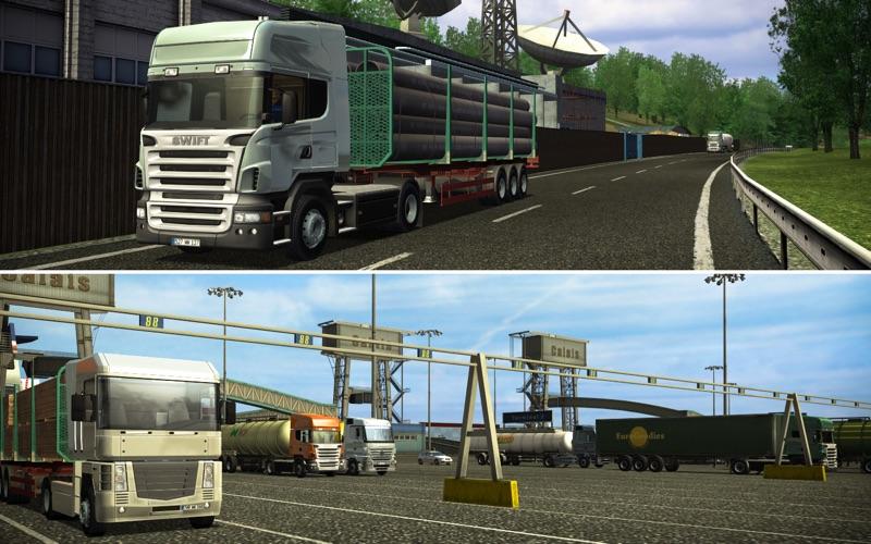 Euro Truck Simulator скриншот программы 4