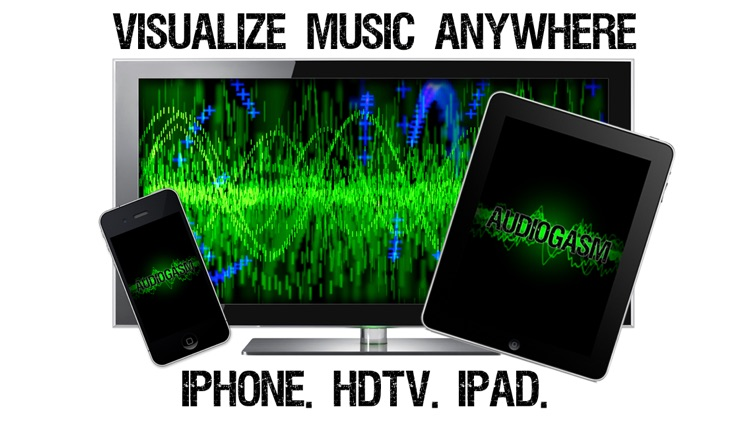 Audiogasm: Music Visualizer - Real time animation of audio and music for iPhone, iPod touch, and iPad