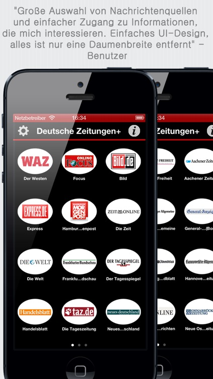 Deutsche Zeitungen - German Newspapers by sunflowerapps screenshot-4