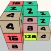 Rubik's 2048 - 2048 3D version