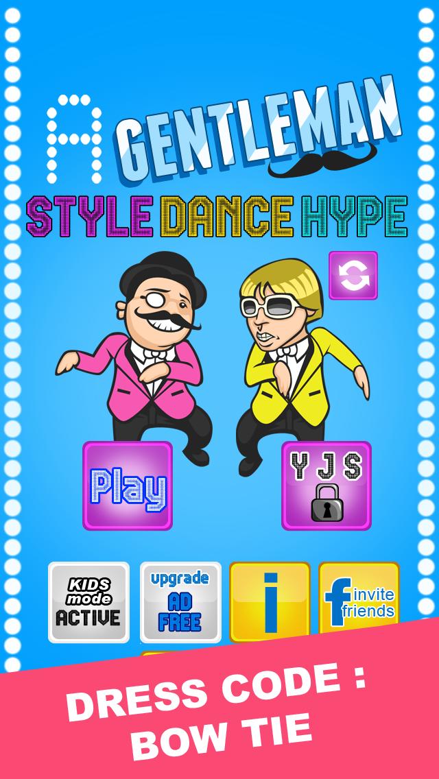 A Gentleman Style Dance Hype: Free Gangnam Music Gameのおすすめ画像1