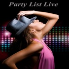 Party / Events List Live icon