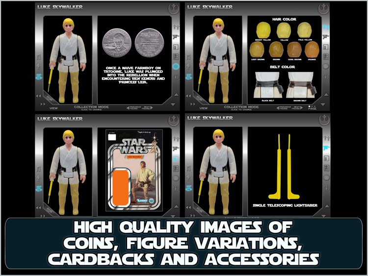 Star Wars Vintage Figure Collector's Guide screenshot-1