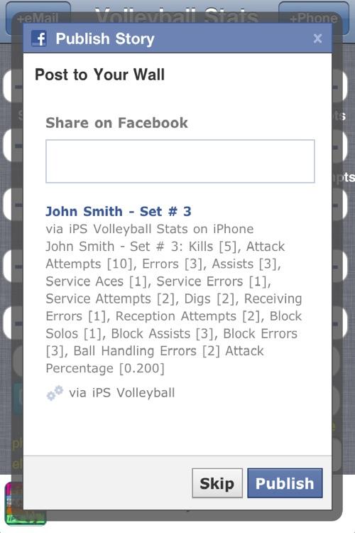 iPS Volleyball Stats screenshot-4