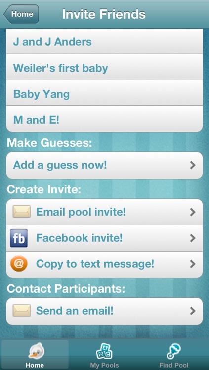 Baby Pool - The Pregnancy Guessing Game