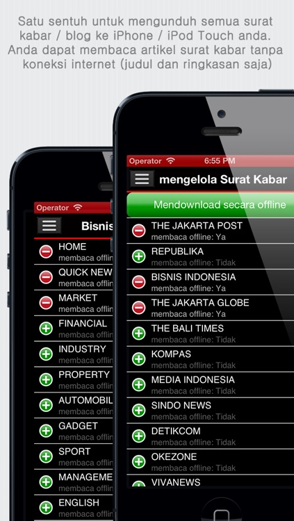 Surat kabar Indonesia - Koran Indonesia - Indonesia News - Indonesian Newspapers