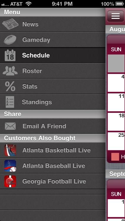 Atlanta Football Live screenshot-3