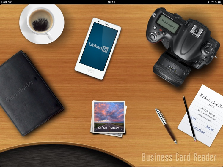 Business Card Reader HD screenshot-3