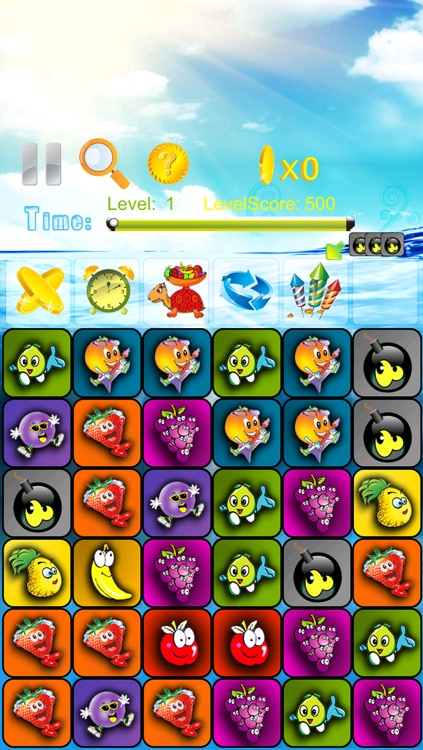 Fruits shooter game - simple logical game for all ages HD Free