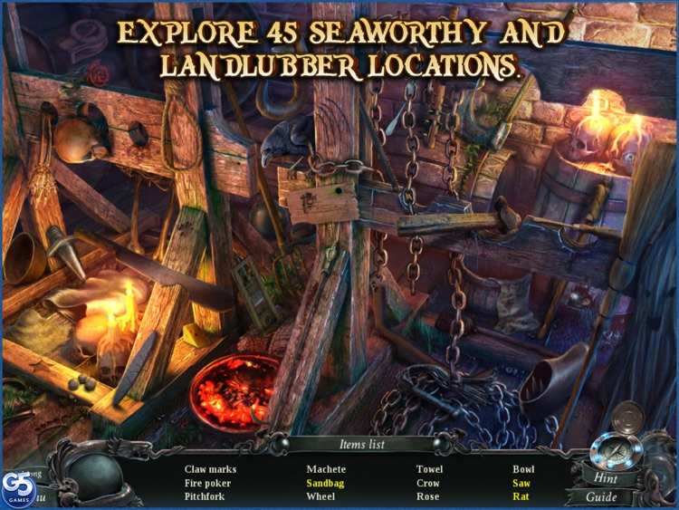 Nightmares from the Deep™: The Cursed Heart, Collector's Edition HD (Full) screenshot-3