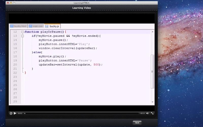 Learning HTML5 screenshot 2