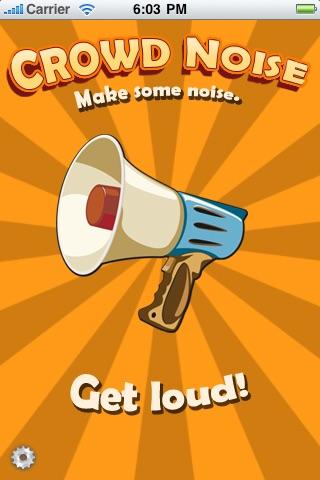 Crowd Noise App