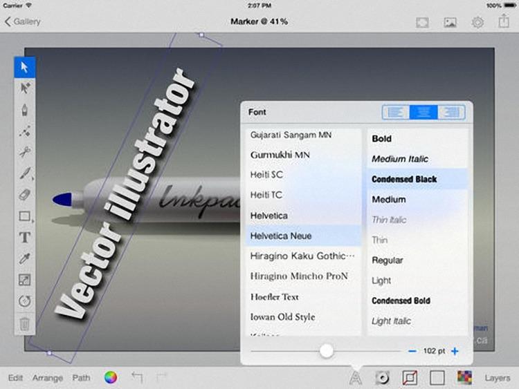 iDraw Plus - Vector illustration & Graphics & Art Design screenshot-4