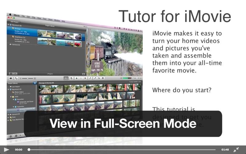Tutor for iMovie 11 Screenshot