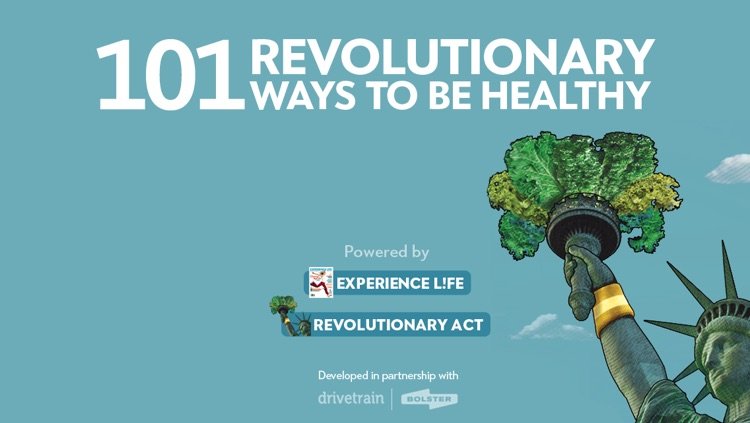 """101 Revolutionary Ways to Be Healthy"" from Experience Life magazine and RevolutionaryAct.com screenshot-0"