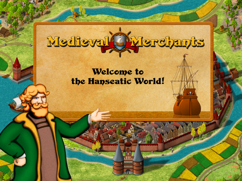 Medieval Merchants - A historical trading simulation на iPad