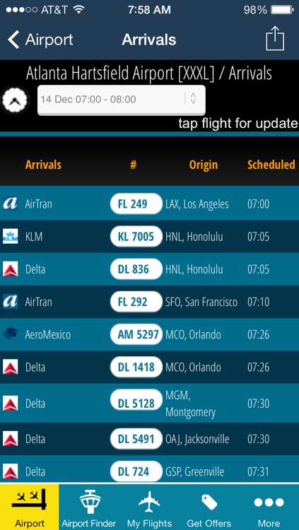 Air Travel Pro - Flight Tracker (all airports)
