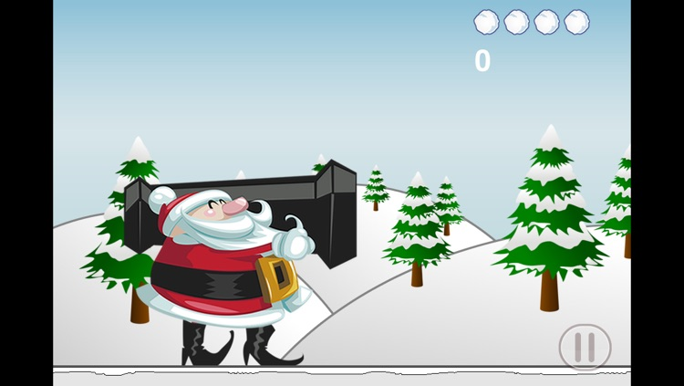 Santa Claus Snowball Fun - Fight with St Nick to Save Christmas Free screenshot-3