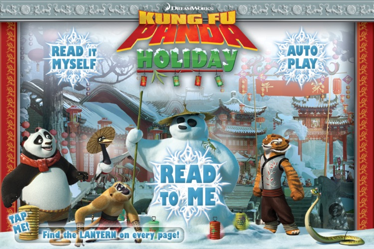 Kung Fu Panda Holiday Storybook