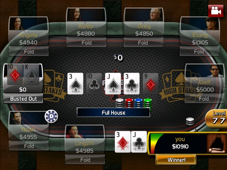 Poker: Hold'em Championship HD screenshot-1