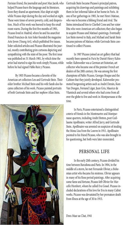 Famous Artists Magazine screenshot-4