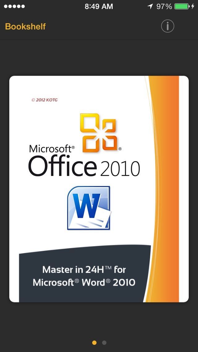 Screenshot #1 pour Master in 24h for Microsoft Word 2010