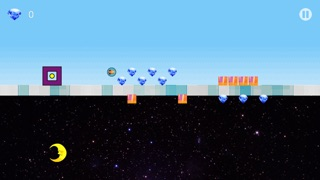 Square Dash Upside Down - Geometry Icon Screenshot on iOS