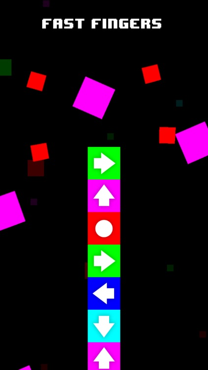 Escalation - Swipe The Arrows and Tap The Dots!