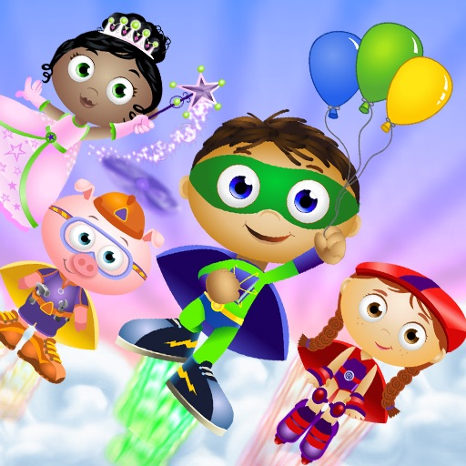 SUPER WHY Alpha Boost!