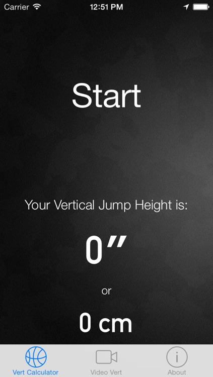 Vertical Jump Calculator