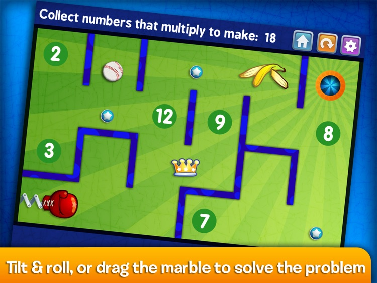 Marble Math Multiplication