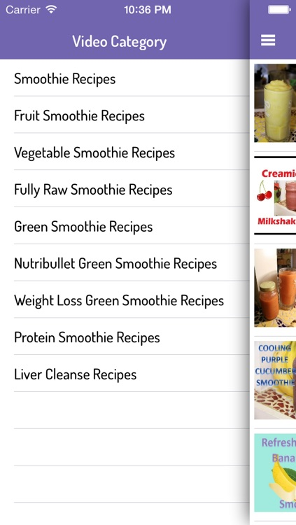 Smoothie Recipes Video Guide: Ultimate Videos of Healthy Smoothie Recipes
