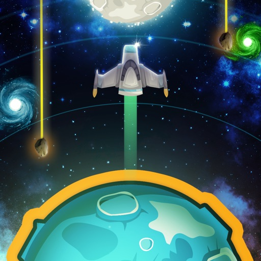 Tap the Planet - save the astronauts lost in space!