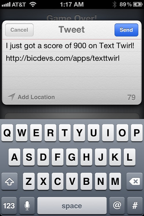 Text Twirl! screenshot-3