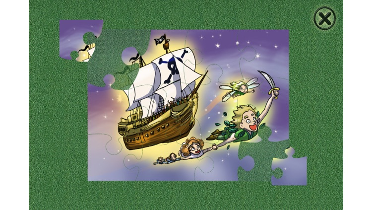 Peter Pan - Cards Match Game - Jigsaw Puzzle - Book screenshot-4