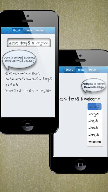 Telugu Keypad - send SMS/E-Mail/Message and update Facebook/Twitter/Instagram