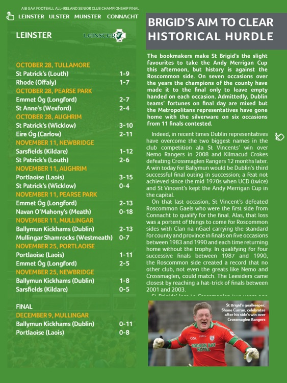 GAA Official Matchday Programmes screenshot-3