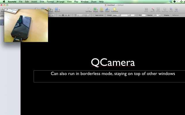 Quick Camera on the Mac App Store