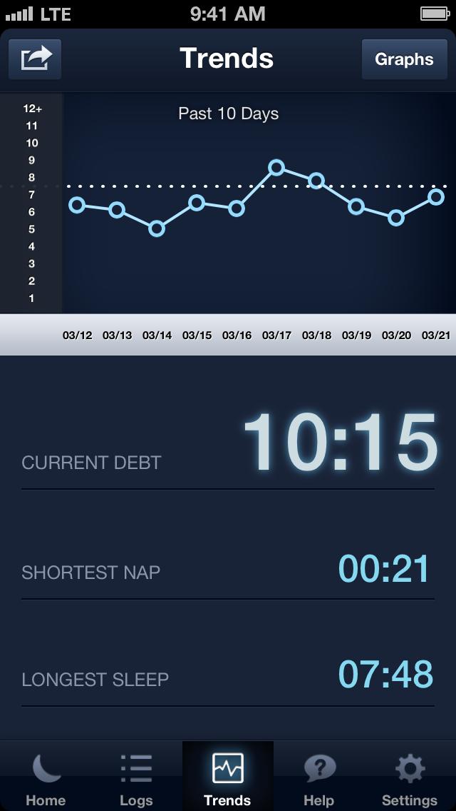 SleepBot - Smart Cycle Alarm with Motion & Sound Tracker Screenshot
