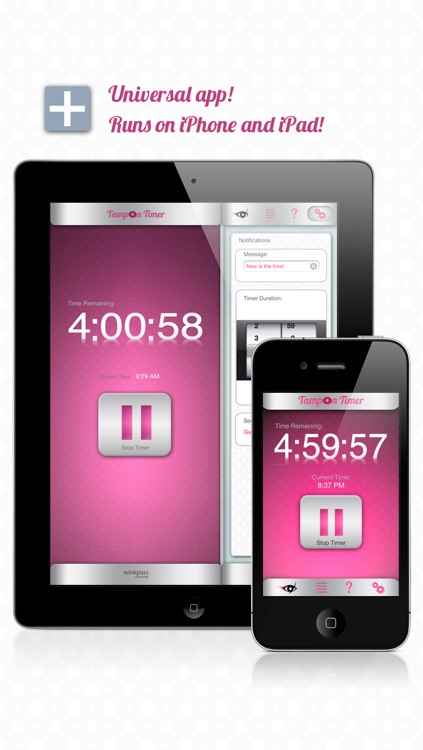 Tampon Timer Free (an iPeriod® companion app)