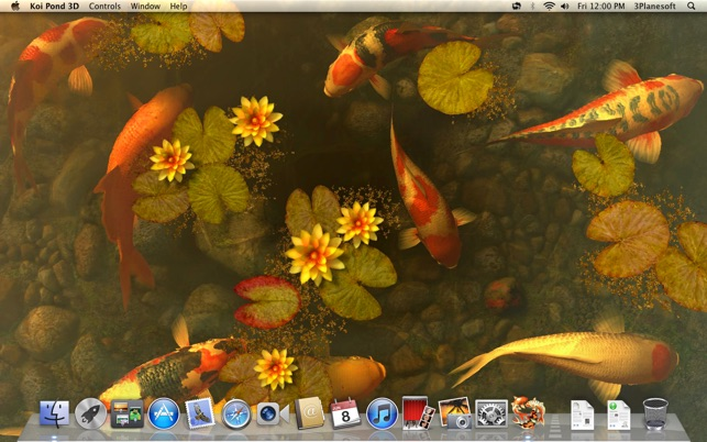 Koi Pond 3D Screenshot