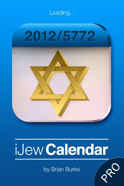iJew Cal Pro - Hebrew/Gregorian Calendar