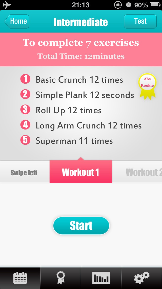 Abs Workouts - Getting A Perfect Belly in 12 Days-2