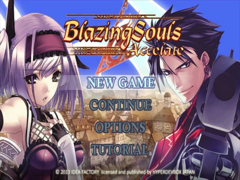 Blazing Souls Accelate на iPad