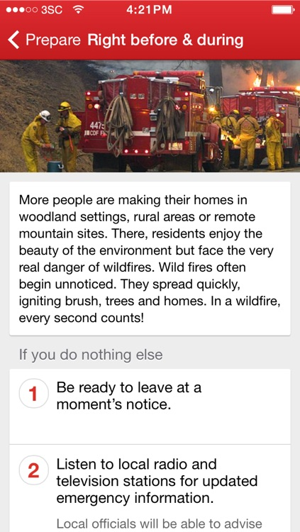 Wildfires by American Red Cross screenshot-3