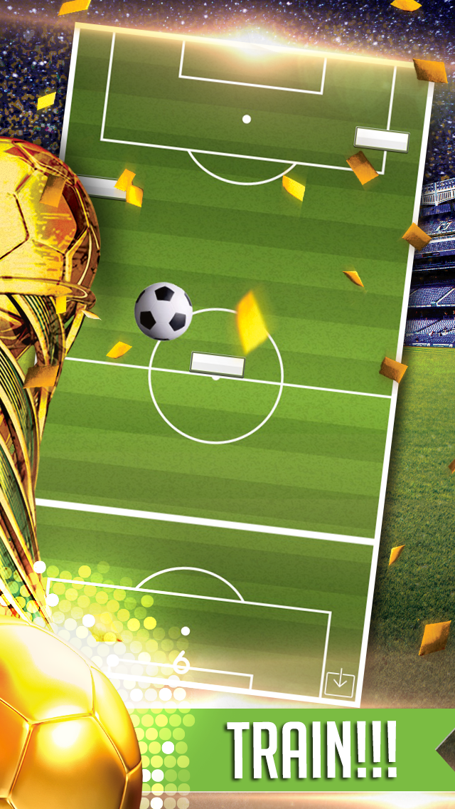 Flickin Balls Golden Boot World Soccer Striker-1